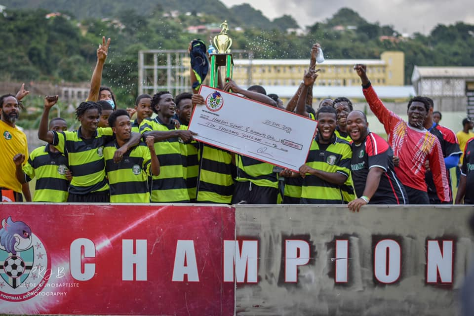 Harlem United are back to back champions of the DFA Division one league.
